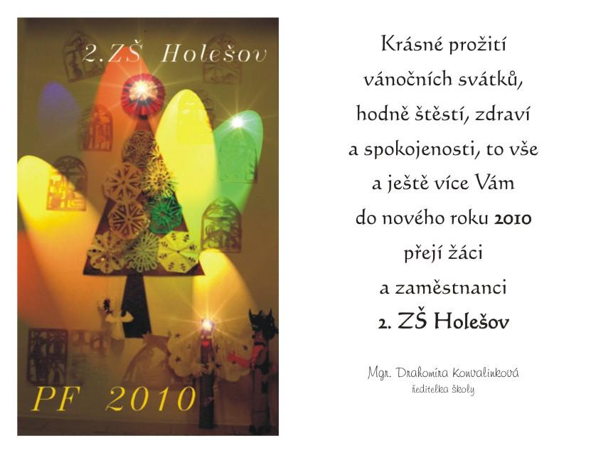 Přání k novému roku